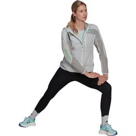 adidas Marathon Jacket Women, wit/grijs